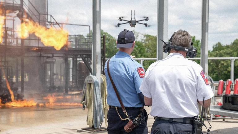 public safety drone situational awareness