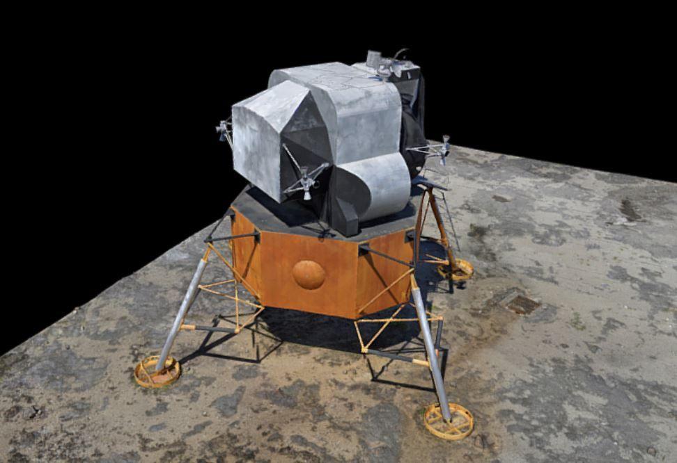 Lunar Lander 3D Scan