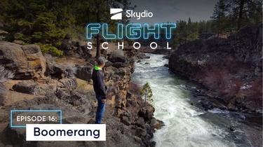 Skydio Flight School: The Boomerang Skill