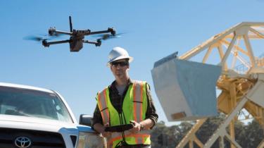 Skydio X2 Autonomous Drone Bridge Inspection