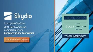 Skydio recognized as Frost and Sullivan's Company of the Year