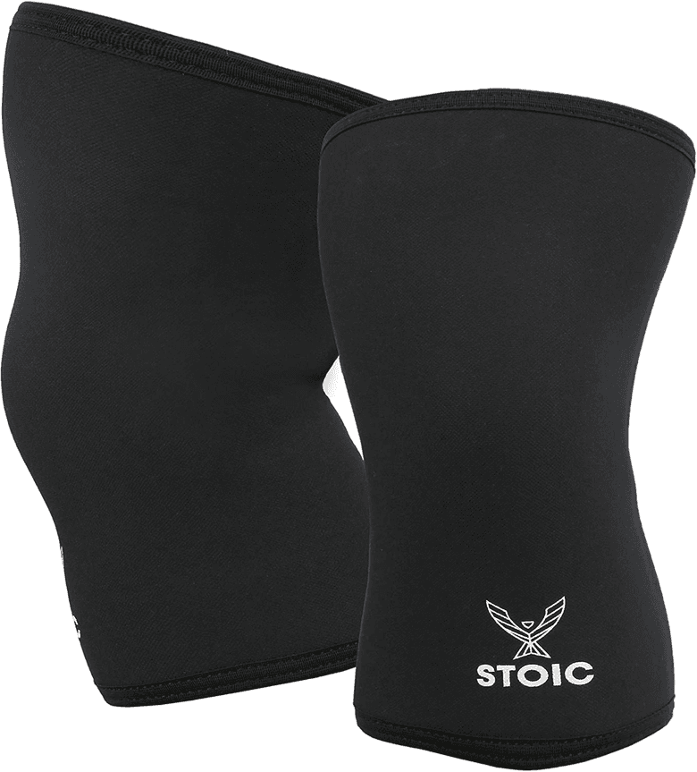7mm Power lifting knee sleeves from Stoic
