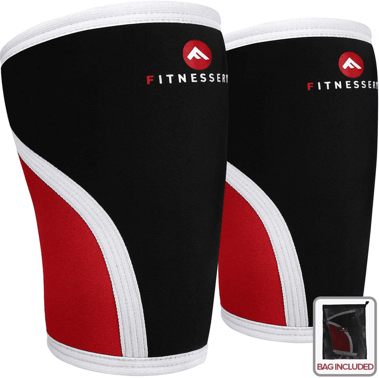 Powerlifting knee sleeves from Fitnessery.