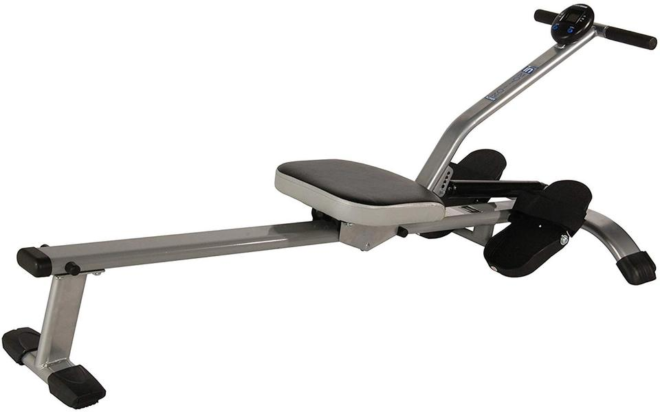 Stamina's foldable rowing machine is compact and easy to use anywhere