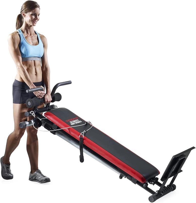 We really like how compact the Weider Ultimate Body Works is, while still providing a wide range of exercises.