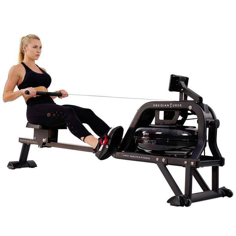 The Obsidian SF-RW5713 rowing machine from Sunny Health and Fitness