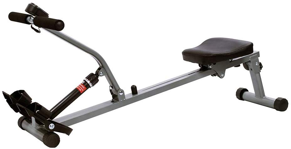 Foldable and compact rowing machine from Sunny Health and Fitness, model SF-RW1205