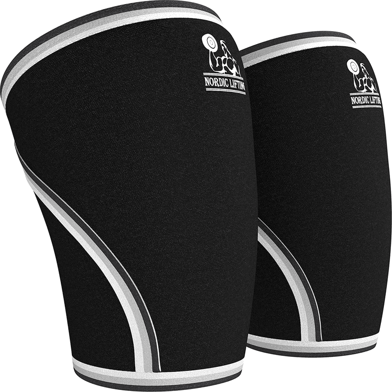 Nordic Lifting knee sleeves, 7mm neoprene