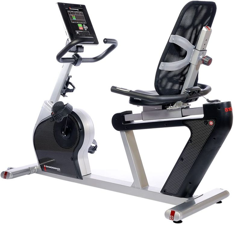 The Diamonback 510SR is an exercise bike of the recumbent type