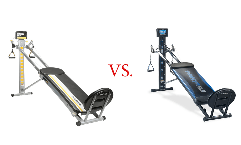 Comparing the Total Gym FIT to the XLS