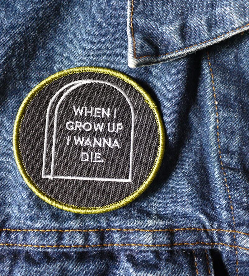 When I Grow Up Patch