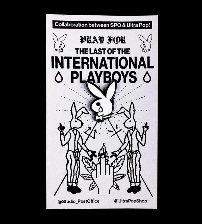 Last of the International Playboys Pin
