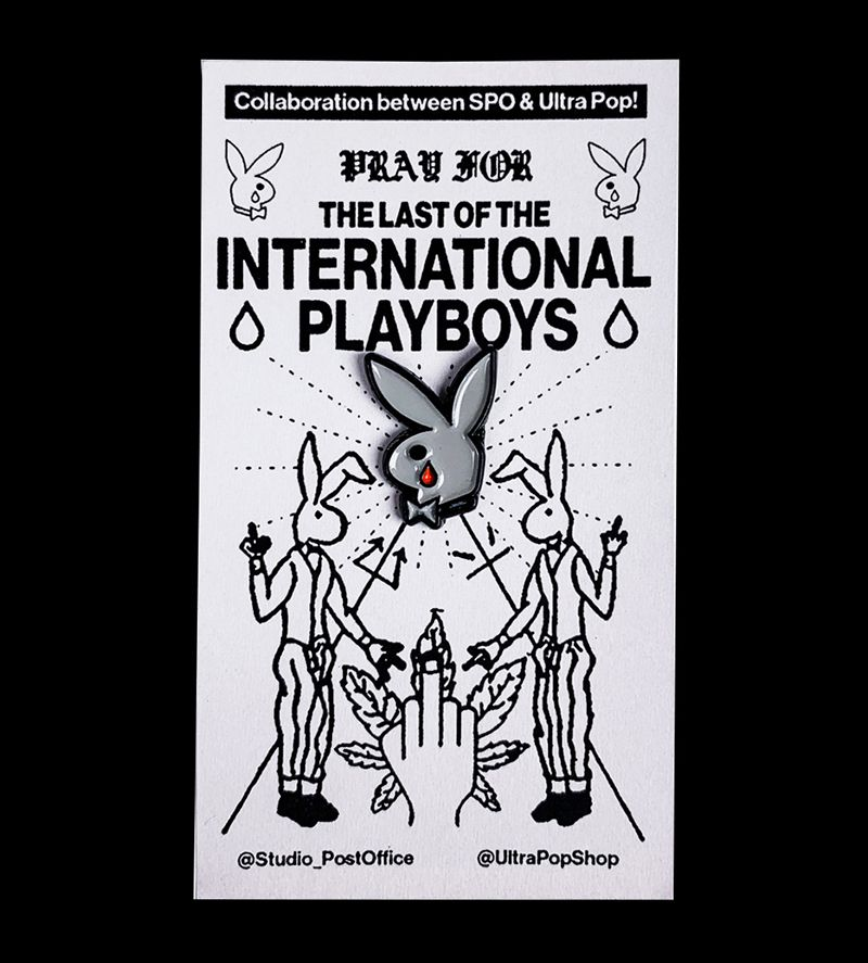 Last of the International Playboys Pin