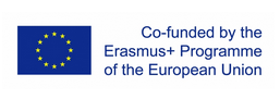 European Union logo with text: Co-funded by the Erasmus+ Programme of the European Union
