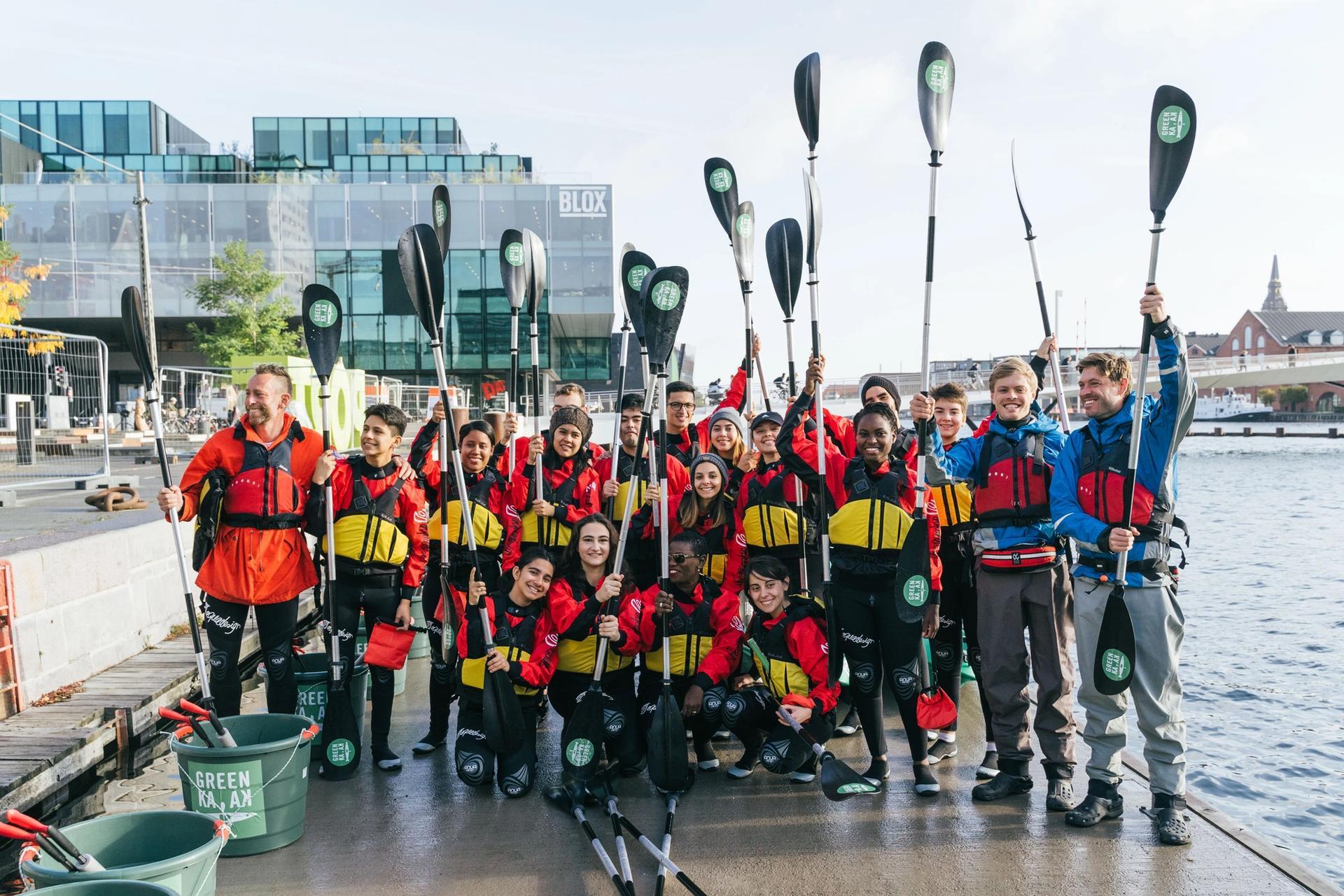 Green Kayaking Copenhagen