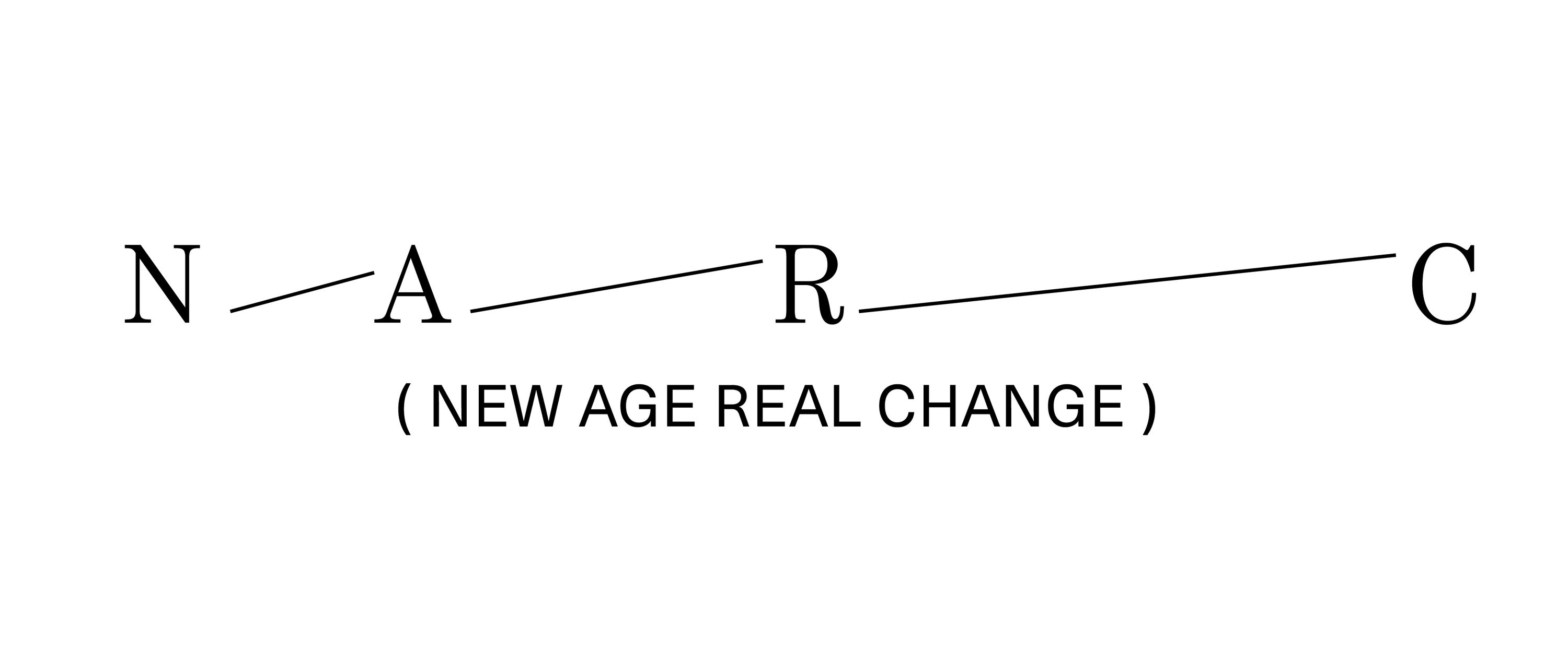 New Age Real Change (N-A-R-C) logo