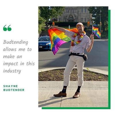 Budtender Shayne Ward