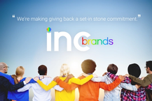 We're making giving back a set-in stone commitment.