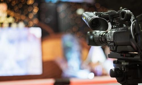 Bilde viser et filmkamera