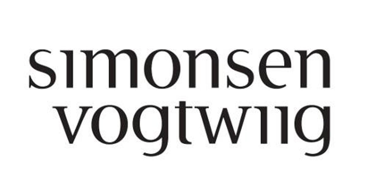 Bildet viser logo til Advokatfirmaet Simonsen Vogt Wiig