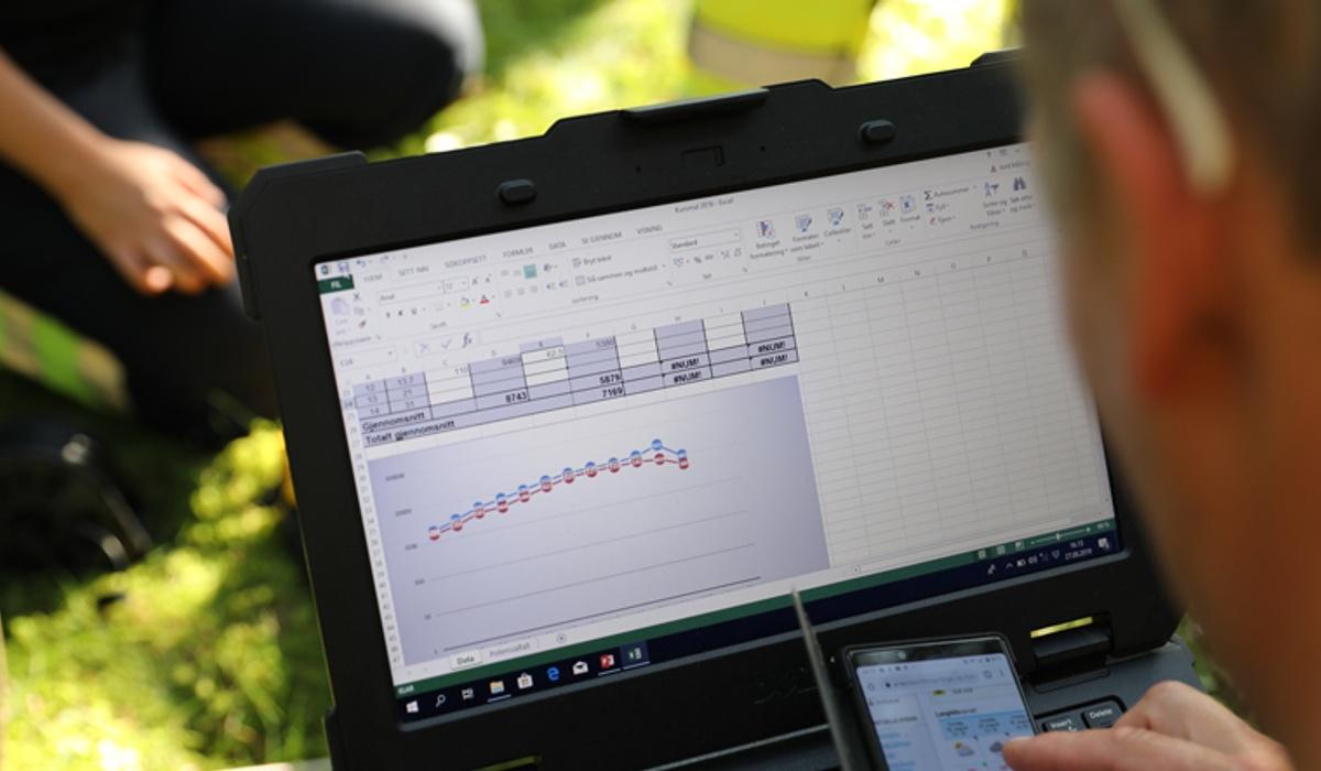Bildet viser beregningsverktøy