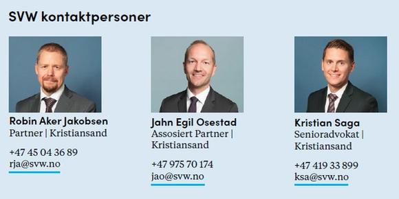 Bilde og kontaktinformasjon til advokatene i Simonsen Vogt Wiig