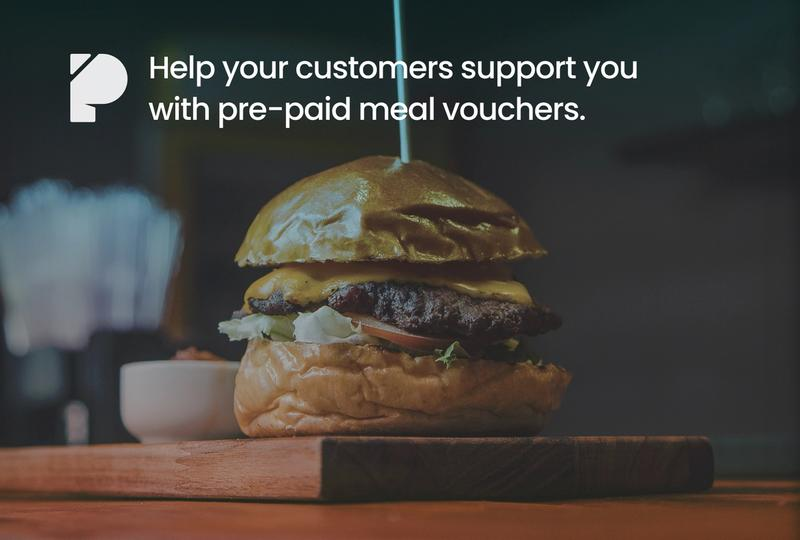 Easily sell pre-paid vouchers for your restaurant