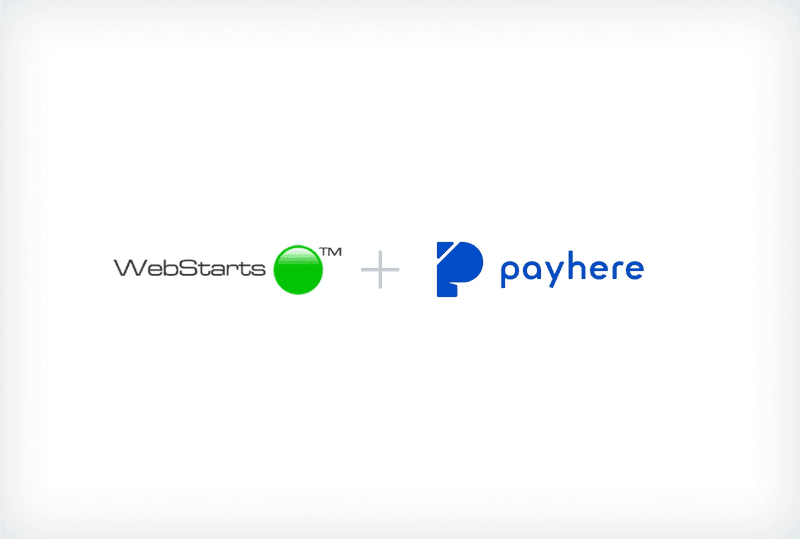 Integrating payments within the WebStarts website builder