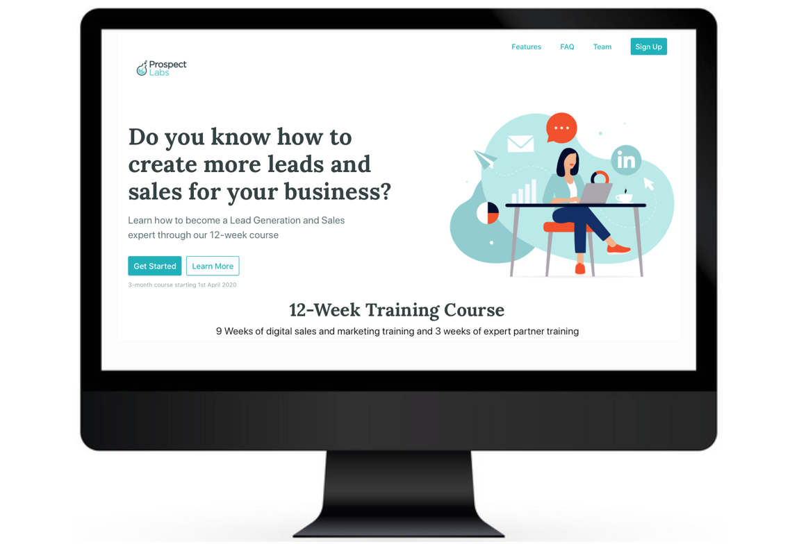 Sell your online course in minutes!