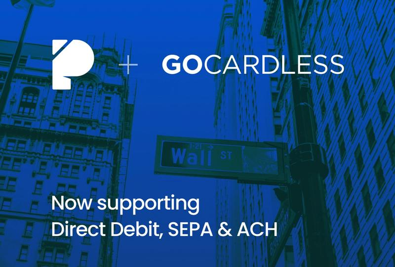 We now support Direct Debit, SEPA and ACH
