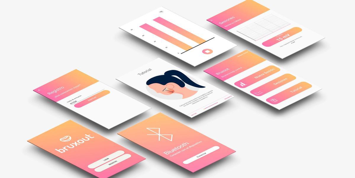 Pantallas de la aplicación