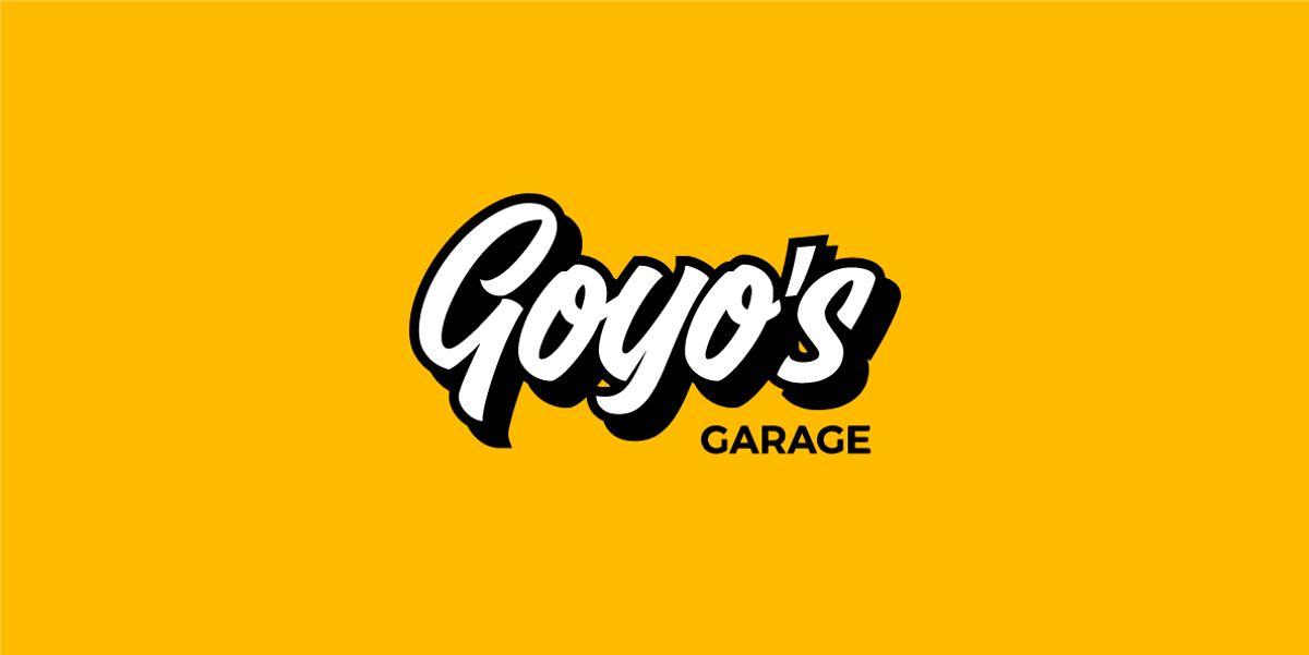 Logotipo Goyo's Garage