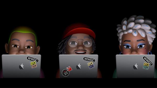 Emojis de la WWDC de Apple