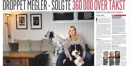 Sjekk ut Dagbladets guide til å selge bolig selv