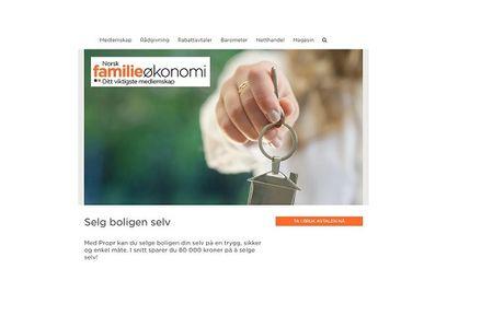 Propr og Norsk Familieøkonomi inngår samarbeid