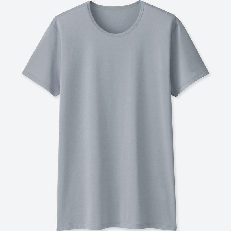 AIRism Crew Neck Short-Sleeve T-Shirt