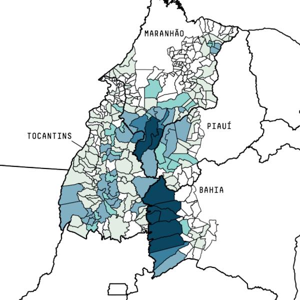 map of Matopiba