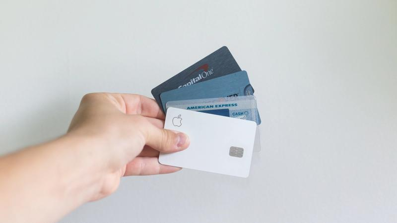 4 credit cards with debt