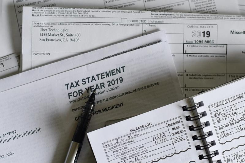 tax documents a small businesses