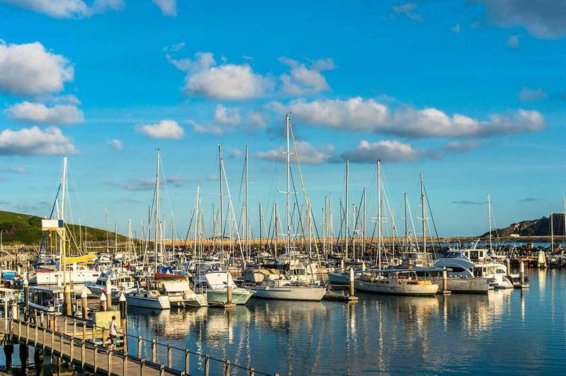 boats in safe harbour