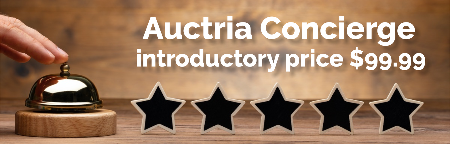 Auctria Concierge 5 Star Service