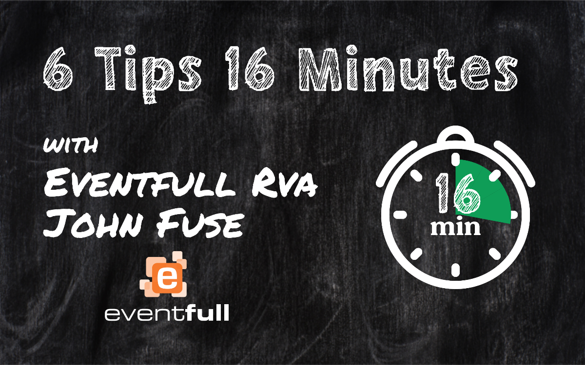 FB Live: 6 Tips in 16 Minutes- Engagement with John Fuse