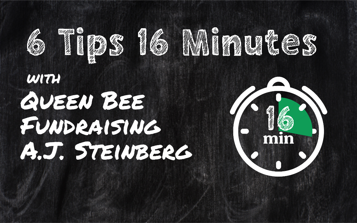 FB Live: 6 Tips in 16 Minutes- Engagement with A.J. Steinberg