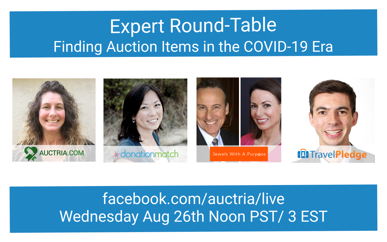 FB Live: Finding Auction Items Round-Table