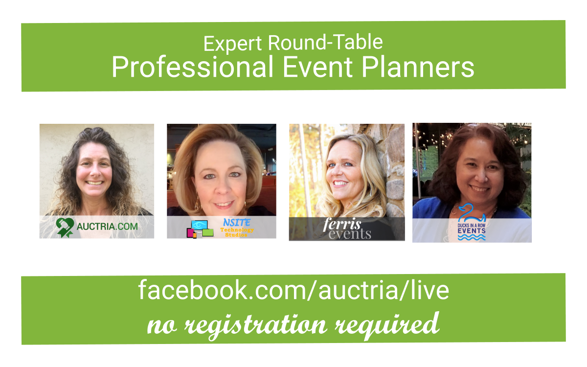 FB Live with Professional Event Planners