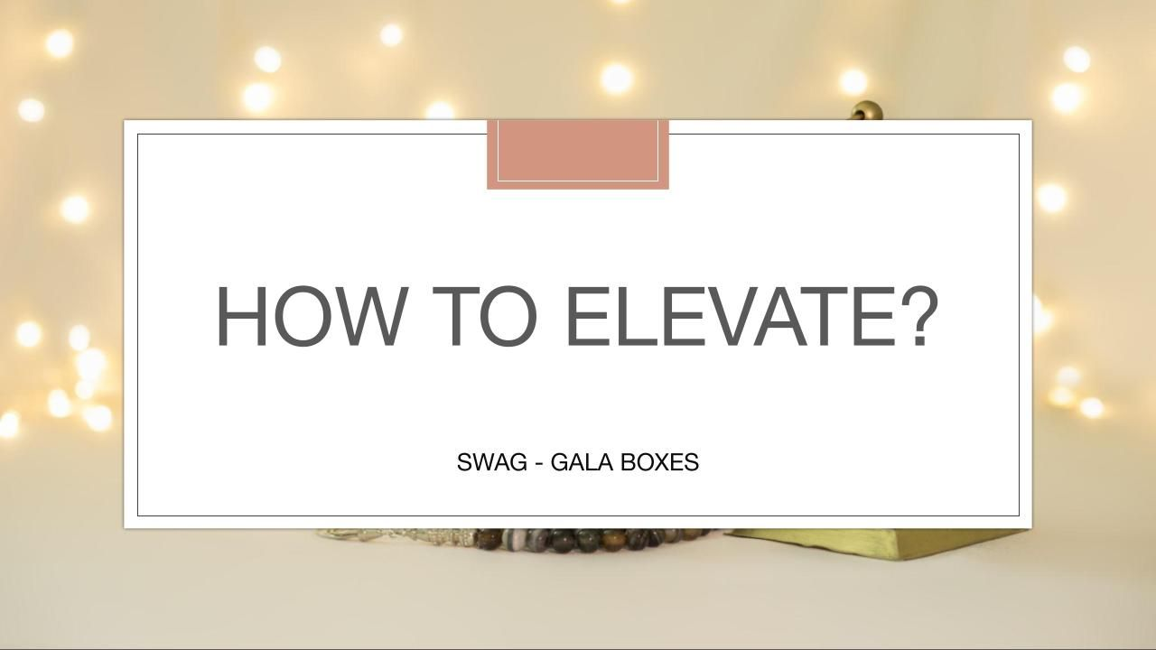 How to Elevate Swag, VIP, GALA Boxes, with Kind + Co Events