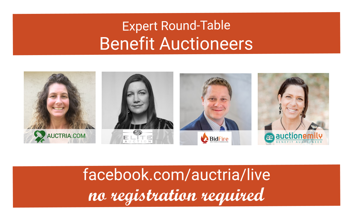 FB Live with Benefit Auctioneer Specialists