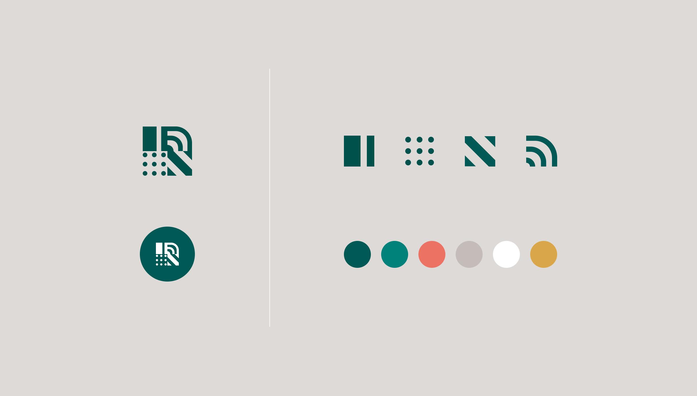 Ripe Planet logomarks and colour palette
