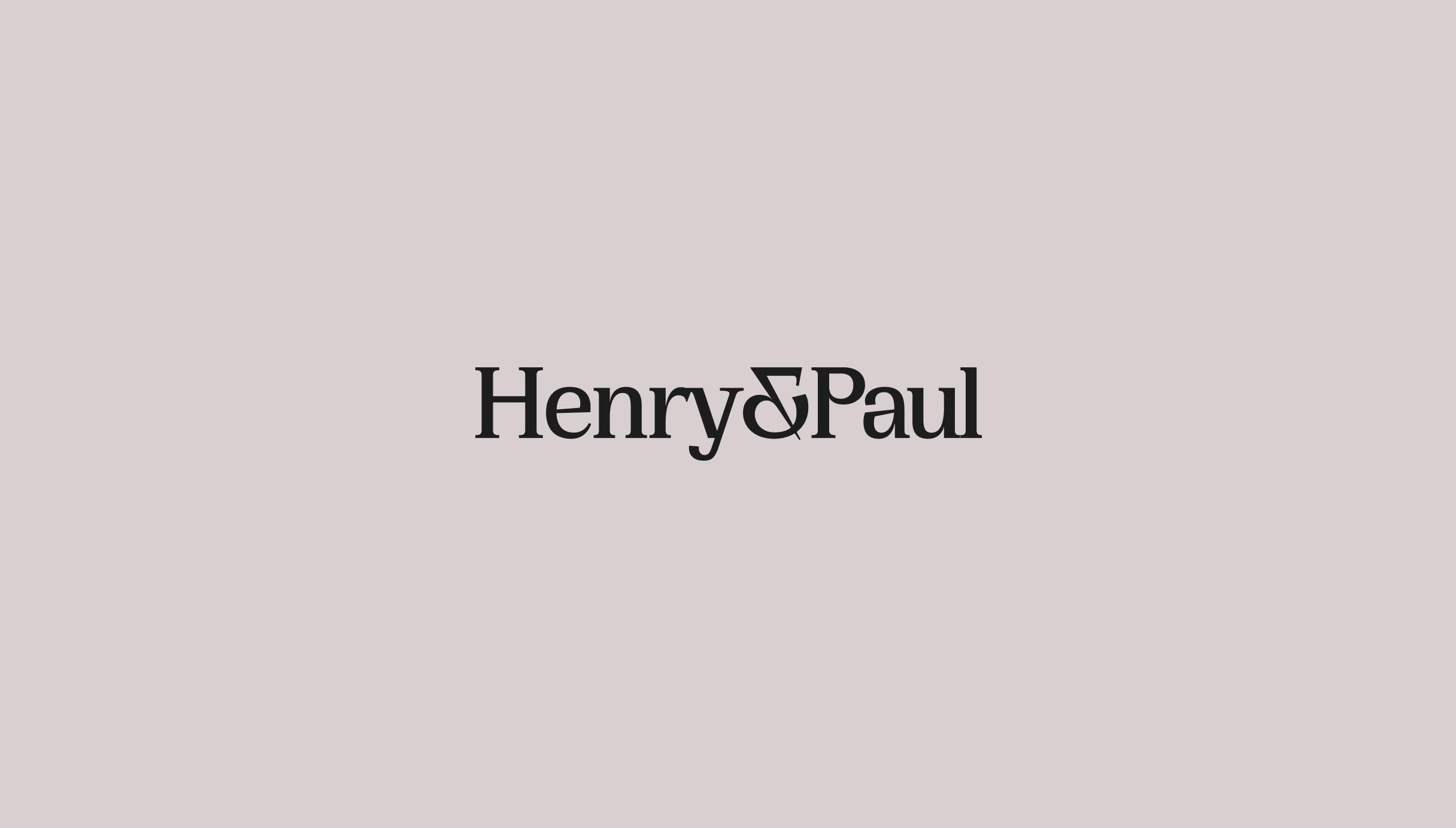 New Henry & Paul logo