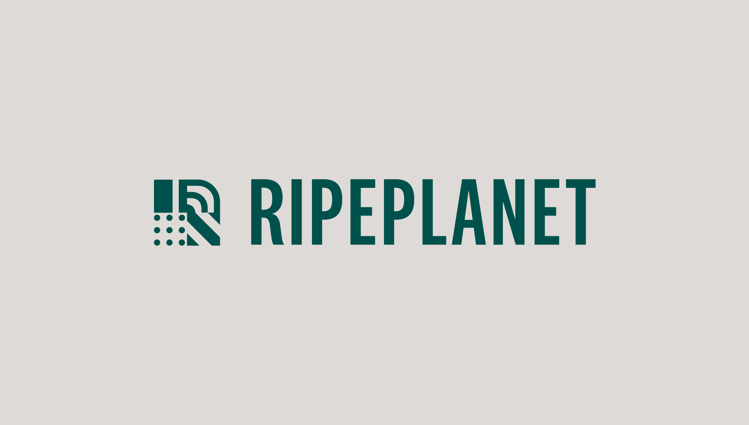 New Ripe Planet brand and logo